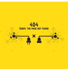 404 connection error vector