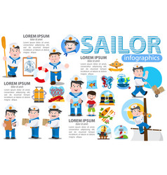 a set of and elements for creating infographics vector image