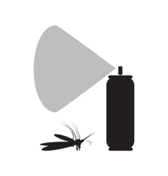 Mosquito spray icon vector image