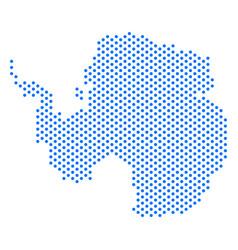 Pixel antarctica map vector
