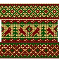 Set of Old Russian ornaments vector image