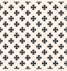 Simple floral pattern geometric seamless texture vector