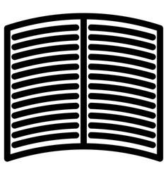 simple icon symbol for magazine book publishing vector image