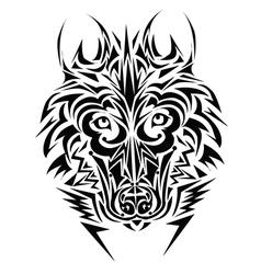 stylised animal design vector image