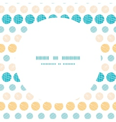 texture circles stripes abstract frame seamless vector image