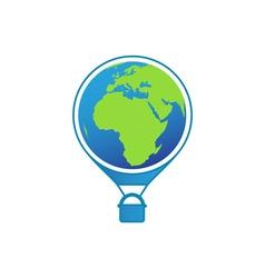 travel-around-the-world vector image