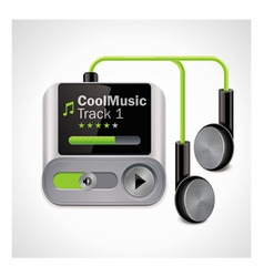 Vector mp3 player xxl icon vector