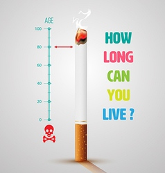 World No Tobacco Day Banner vector
