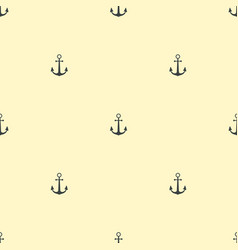 anchor vintage pattern sea naval background symbol vector image