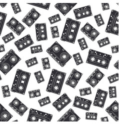 Seamless background pattern hipster style with vector