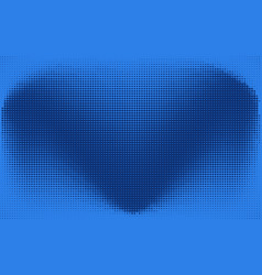 abstract blue check or heart dotted background vector image