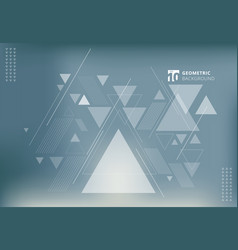 Abstract blurred background with geometric vector