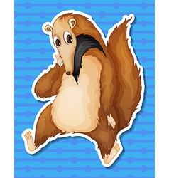 Ant eater vector image