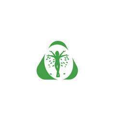 Body health logo design concept icon vector