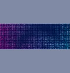Halftone retro background pink blue vector