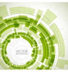 hi-tech background vector image