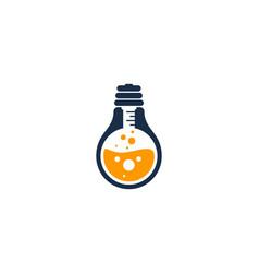 idea science lab logo icon design vector image