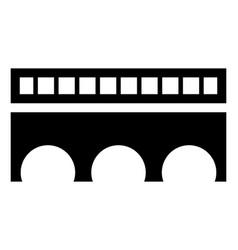 Les ferreres aqueduct vector