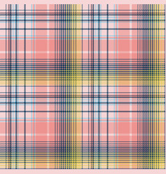 Light color check plaid pixel seamless pattern vector