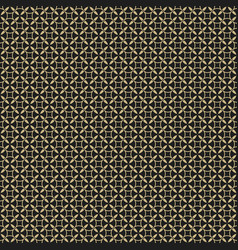 retro vintage seamless pattern elegant black and vector image