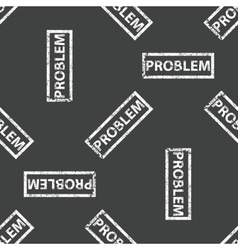 Rubber stamp PROBLEM pattern vector image