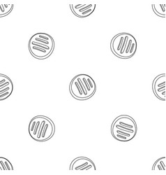 sweet candy icon outline style vector image