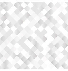 Seamless background with shiny silver squares vector image