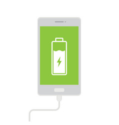 charge mobile phones vector image