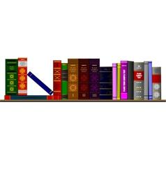 al 0427 books vector image vector image