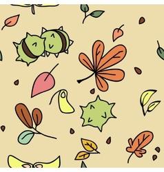 autumn pattern 1 vector image