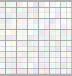 background art colored light squares mosaic vector image