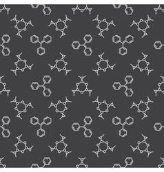 Chemistry dark pattern vector
