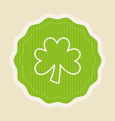 clover design vector image