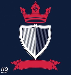 Empire design element Heraldic royal coronet - imp vector