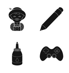 Equipment entertainment tourism and other web vector