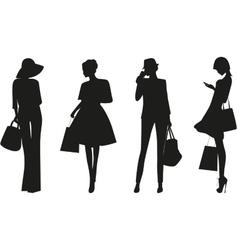 Fashion women vector