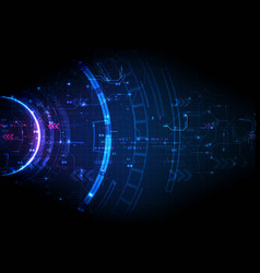 Light futuristic game several digital technology vector