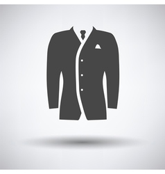 Mail suit icon vector image