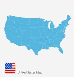 Map america vector