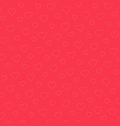 pink heart pattern background vector image