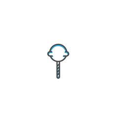 popsicle icon design gastronomy icon vector image