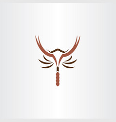 scorpion icon symbol logo vector image