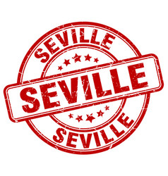 Seville stamp vector