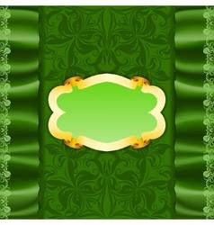 template luxury invitation vector image