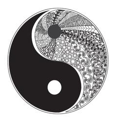 Yinyang symbol 2 38 vector