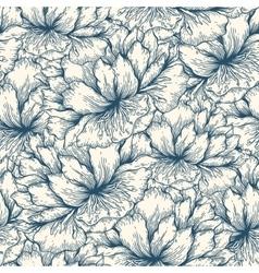 Graphic flowers Garden vector image vector image
