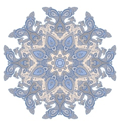 Mandala decorative pattern vector image vector image