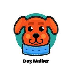 Dog Walker logo Dog logo Logo veterinarian clinic vector image vector image