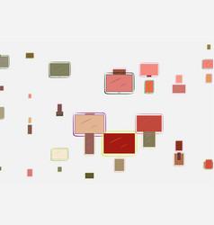 Abstract conceptual hand drawn handphone or vector
