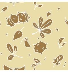 autumn pattern 2 vector image